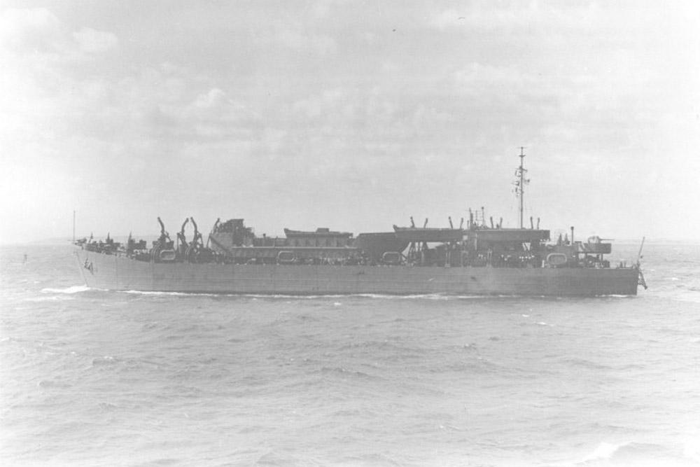 Scheepswrak USS LST-396