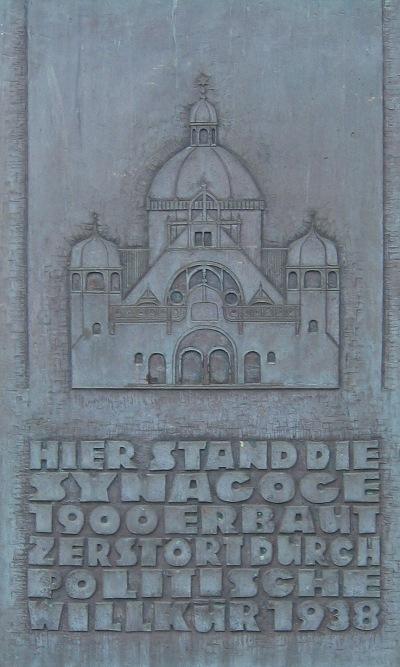 Monument Synagoge Dortmund
