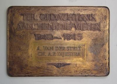Plaque Killed Railway-Employees Dordrecht