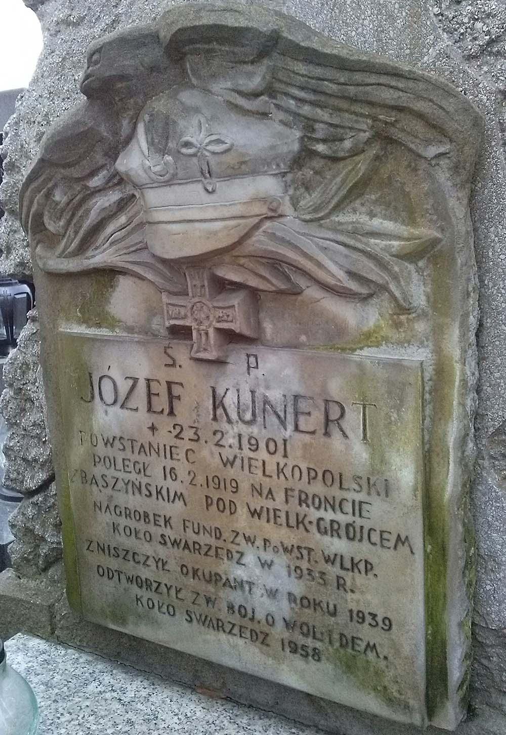 Grave Jozef Kunert