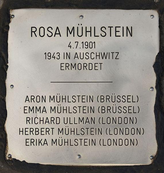 Remembrance Stones Wielandplatz