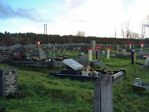 Commonwealth War Graves St. Tudwr Churchyard
