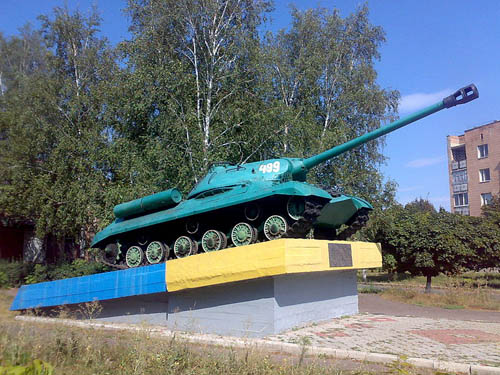 Bevrijdingsmonument (IS-3 Tank) Novomyrhorod