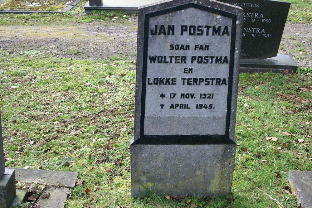 Nederlandse Oorlogsgraven Gemeentelijke Begraafplaats