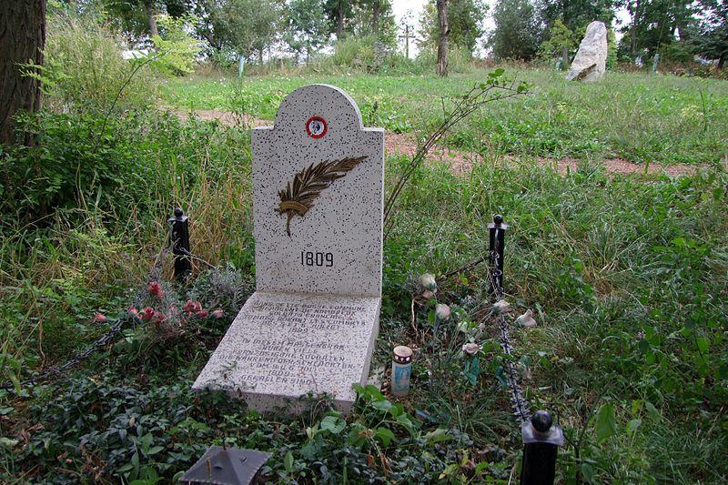 Mass Grave French Soldiers Obersiebenbrunn