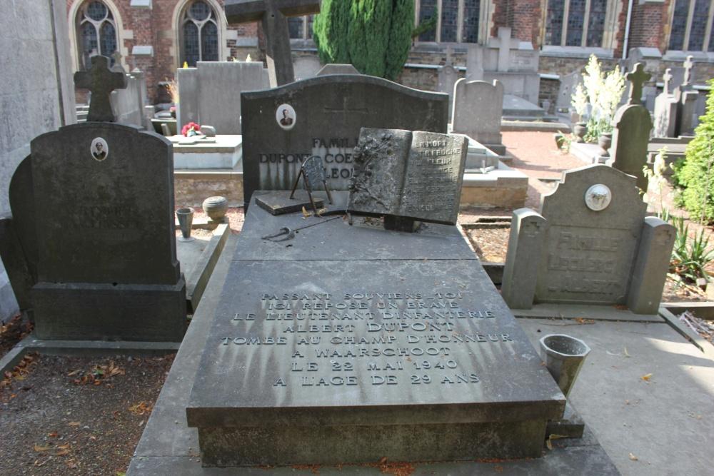 Belgische Oorlogsgraven Liers