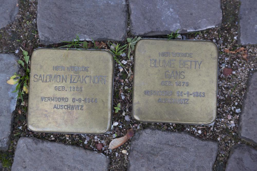 Stolpersteine Rijnkade 34