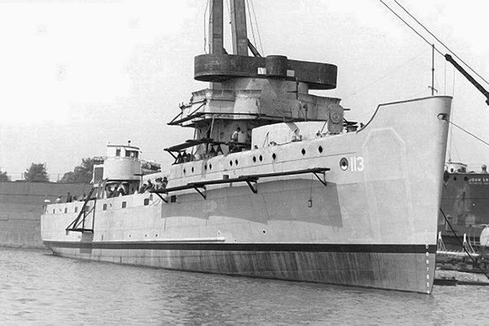 Shipwreck U.S.S. Sentinel (AM-113)