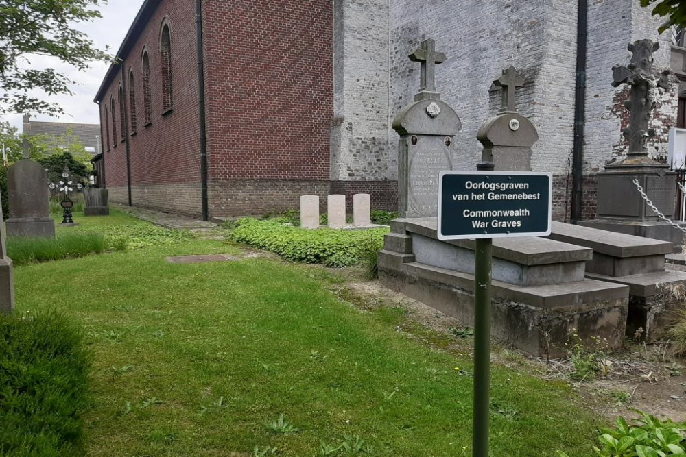 Oorlogsgraven van het Gemenebest Zedelgem