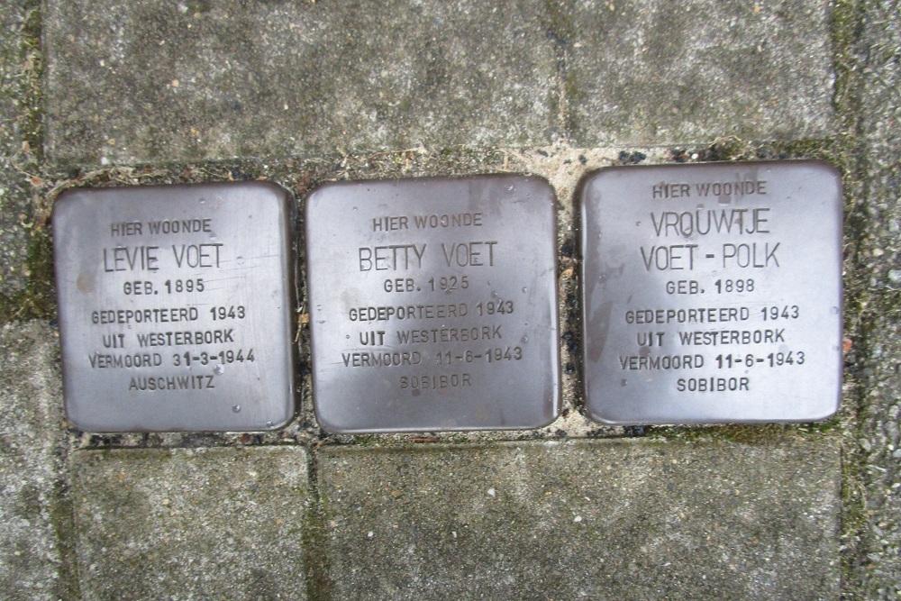 Remembrance Stones Smaragdstraat 67