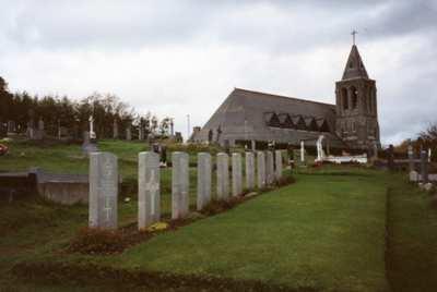 Oorlogsgraven van het Gemenebest Sacred Heart Roman Catholic Churchyard