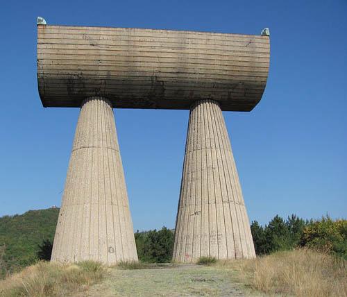Partizanenmonument Kosovska Mitrovica