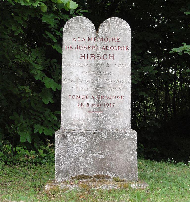 Monument Joseph-Adolphe Hirsch