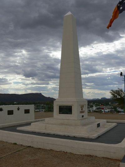 ANZAC Monument Alice Springs