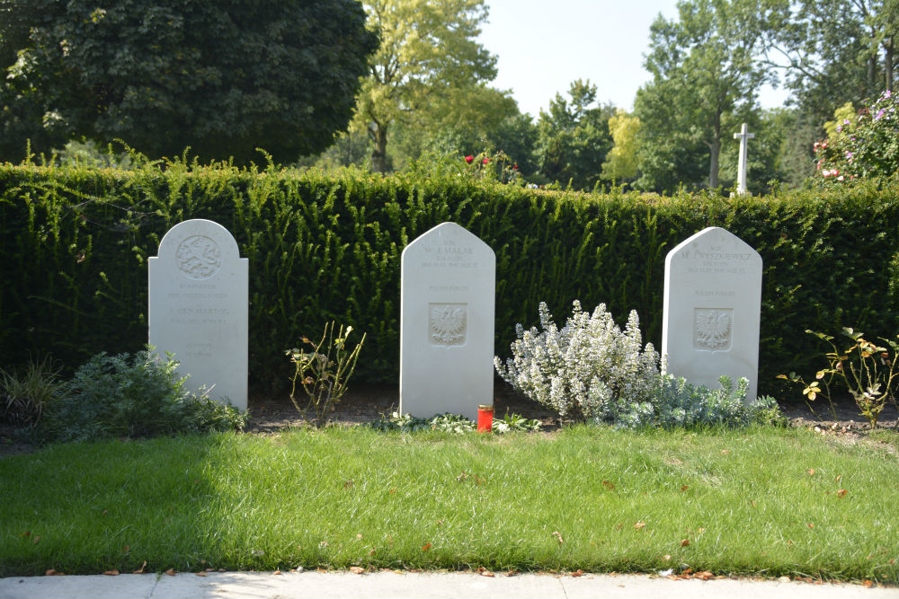 Polish War Graves General Cemetery Woensel-Eindhoven