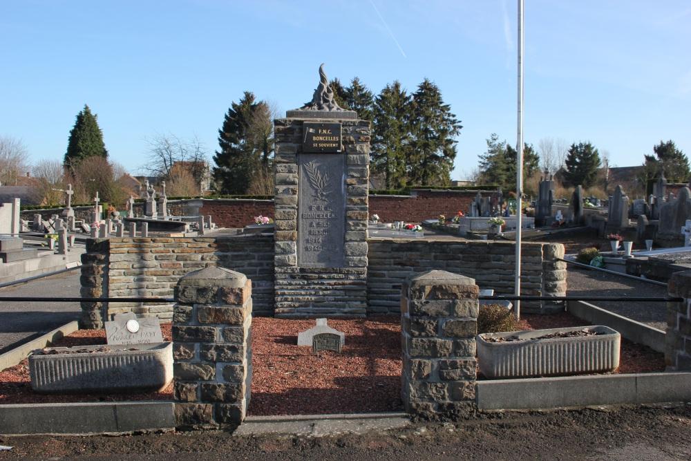Oorlogsmonument Begraafplaats Boncelles
