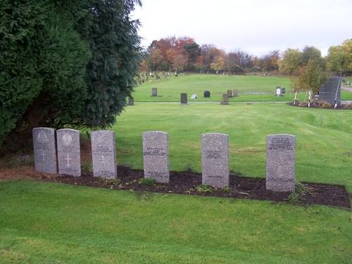 Commonwealth War Graves St. Kentigern Roman Catholic Cemetery