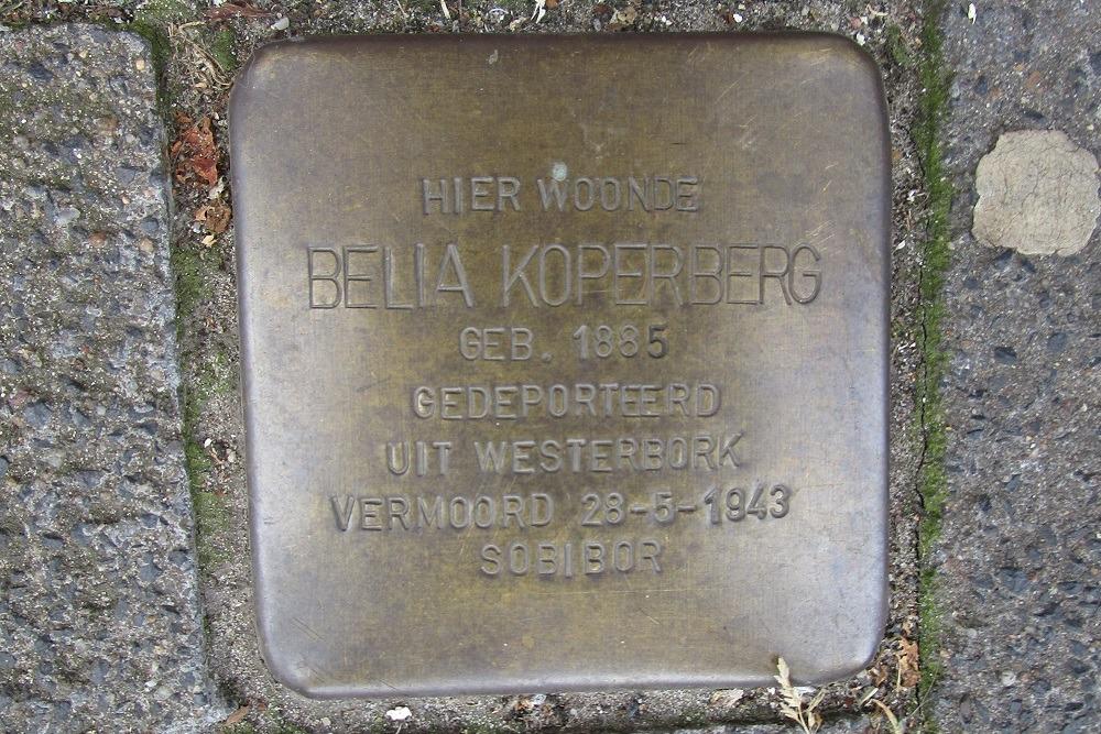 Remembrance Stone Rijnstraat 40-II
