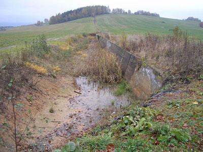 Benešova Line - Tank Barrier Kraliky