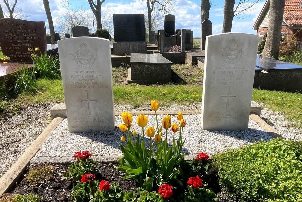 Oorlogsgraven van het Gemenebest Protestante Begraafplaats Wierhuizen