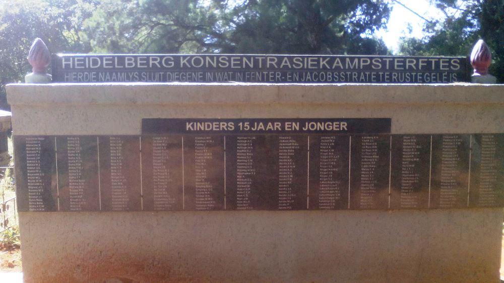 Oorlogsbegraafplaats Boerenoorlog Heidelberg