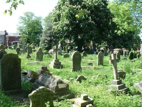 Oorlogsgraven van het Gemenebest Uttoxeter Road Cemetery