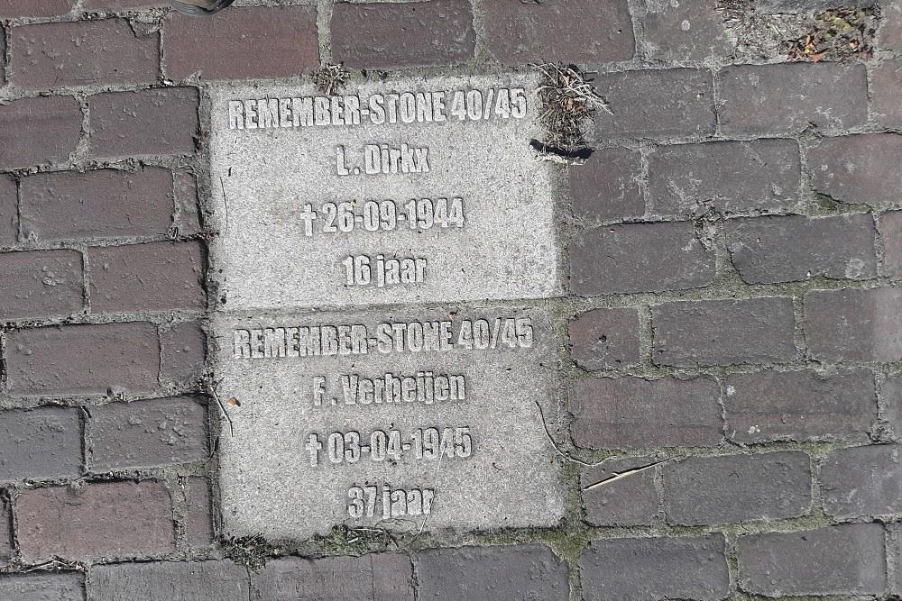 REMEMBER-STONE 40/45 St. Servatiusstraat 31