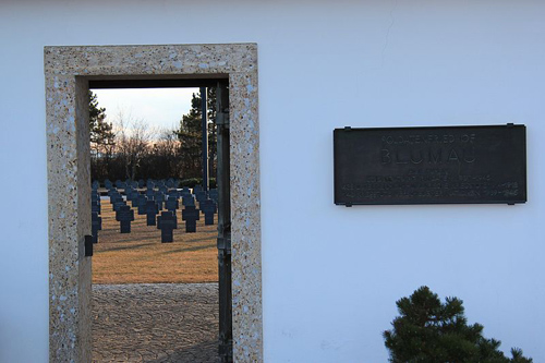 German War Cemetery Blumau