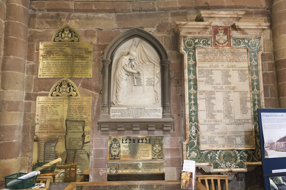 Plaquettes Carlisle Cathedral