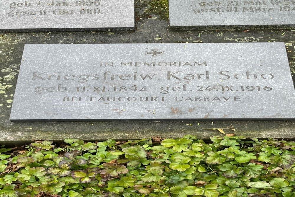 War Graves Cemetery 'Oster' Ochtrup