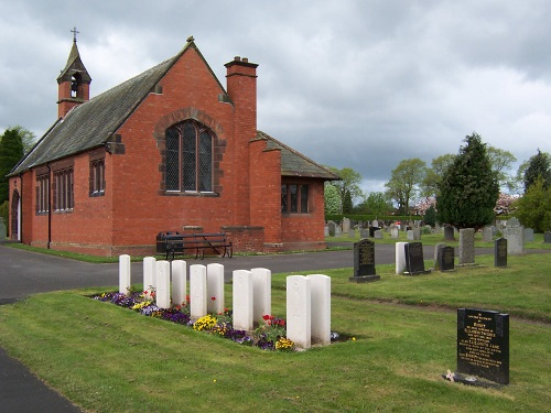 Commonwealth War Graves Stanwix Cemetery