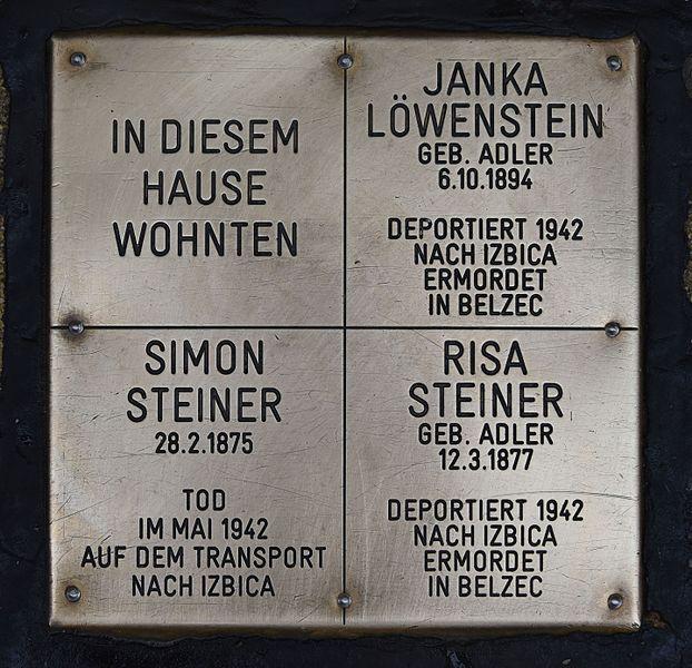 Gedenksteen Ettenreichgasse 9