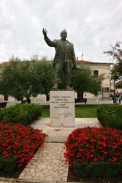 Monument Joakim Rakovac