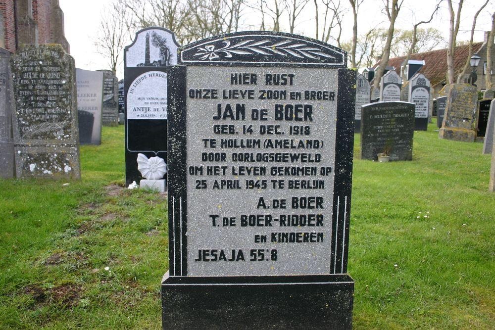 Nederlands Oorlogsgraf Gemeentelijke Begraafplaats