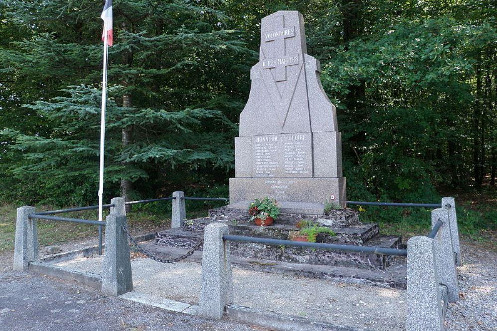 Memorial Killed Resistance Fighters Longeroye