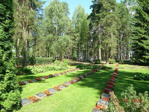 Finnish War Graves Punkaharju