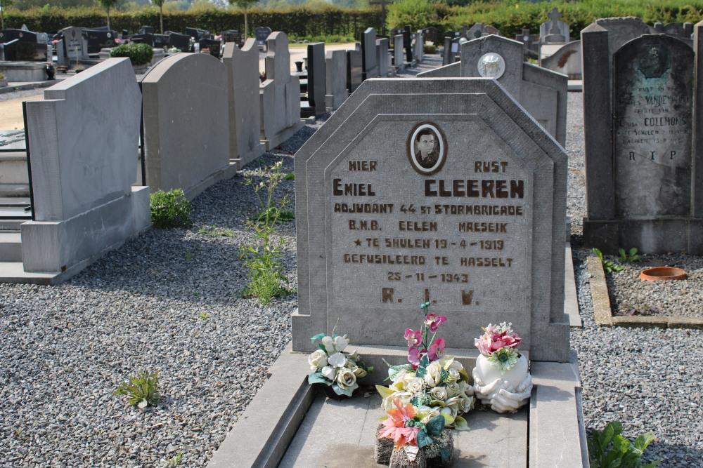 Belgische Oorlogsgraven Schulen