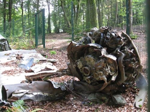 Crash Site & Remains Hudson Transport Aircraft