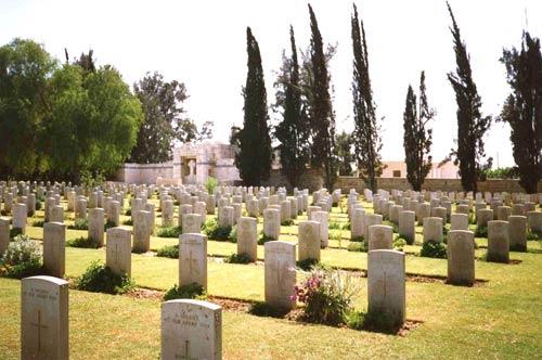Greek War Graves Gaza