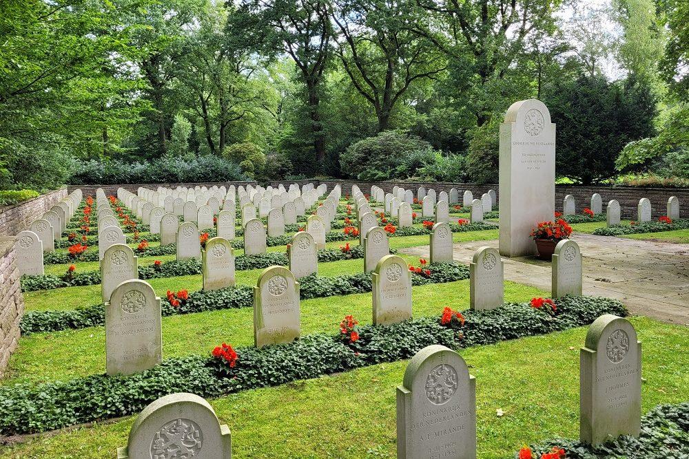 Dutch War Cemetery Osterholzer Friedhof Bremen