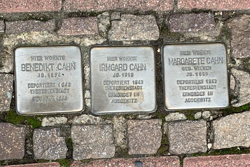Stolpersteine Eschersheimer Landstraße 10