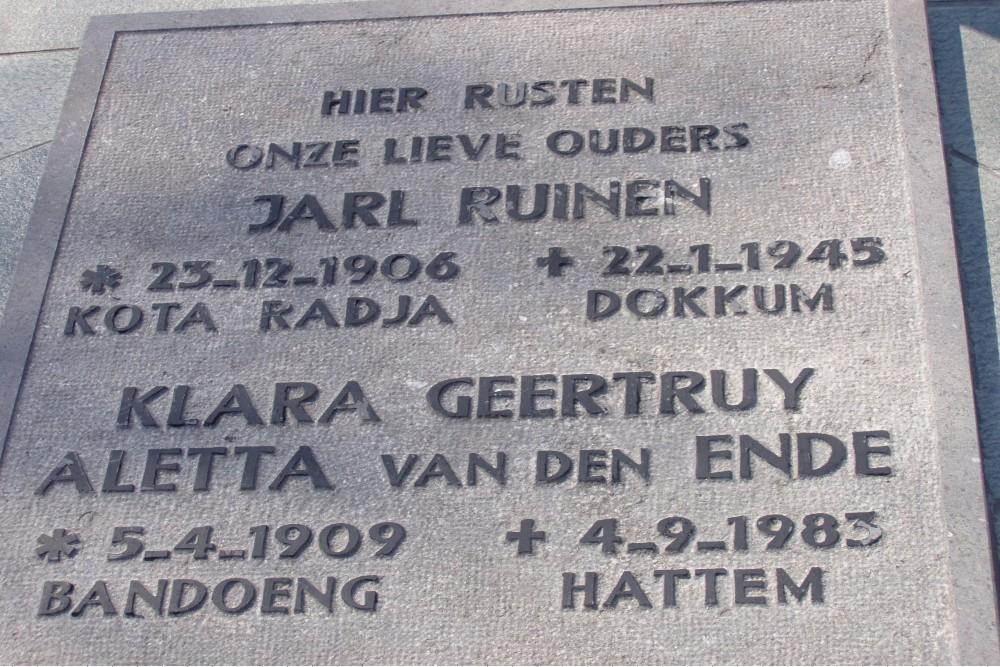 Grafmonument Dr. J.Ruinen