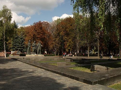 Soviet War Cemetery & Memorial Vinnytsia