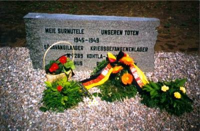 Duitse Oorlogsbegraafplaats Kohtla-Järve