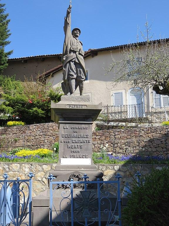 War Memorial Beurières