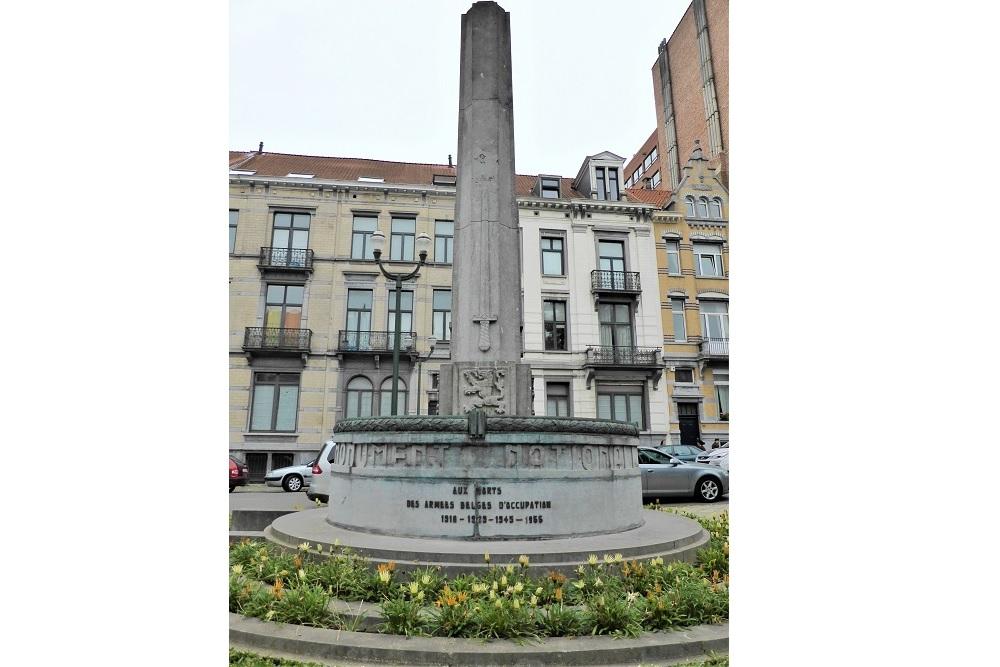 Nationaal Gedenkteken van de Belgische Bezettingslegers