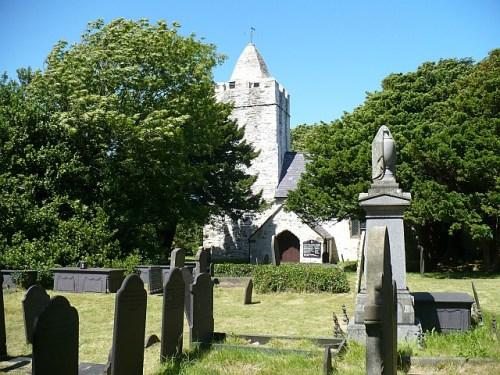 Commonwealth War Graves St. Mechell Churchyard