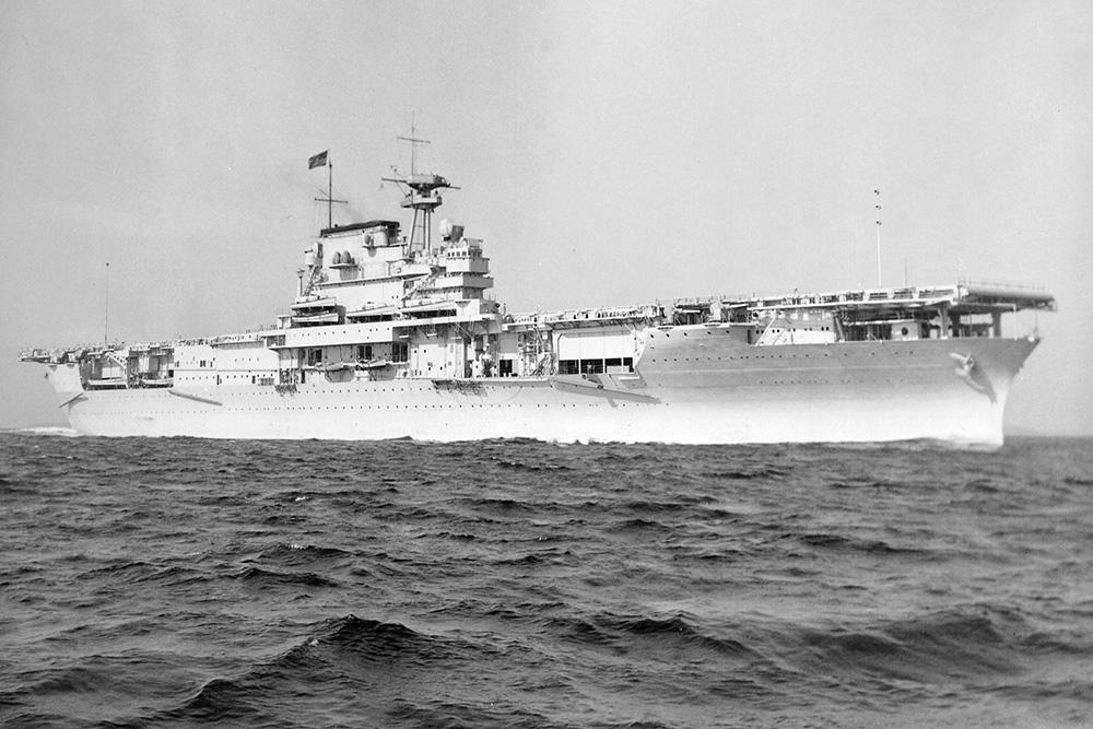 Ship Wreck U.S.S. Yorktown (CV-5)