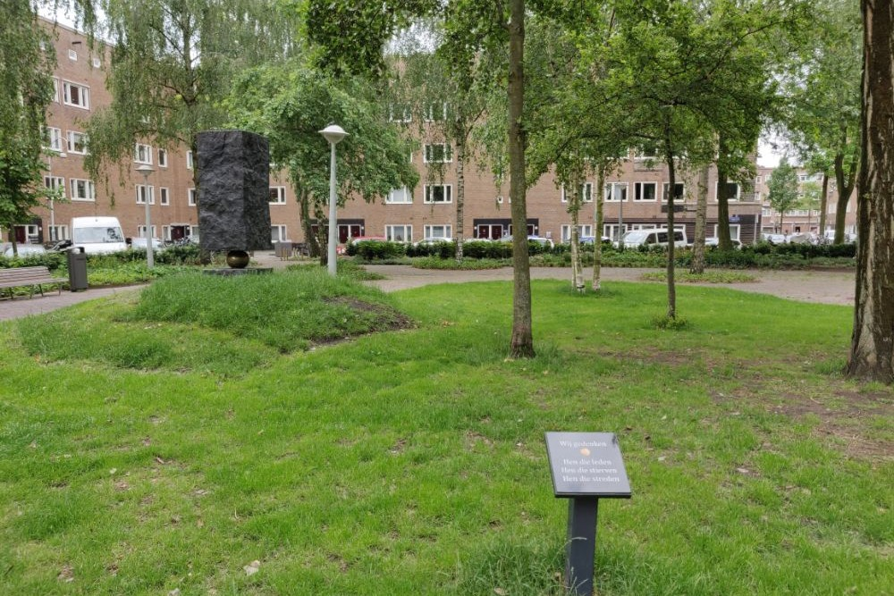 Memorial Columbusplein Amsterdam