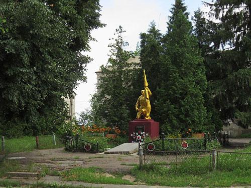 Mass Grave Soviet Soldiers & War Memorial Nova Hreblya